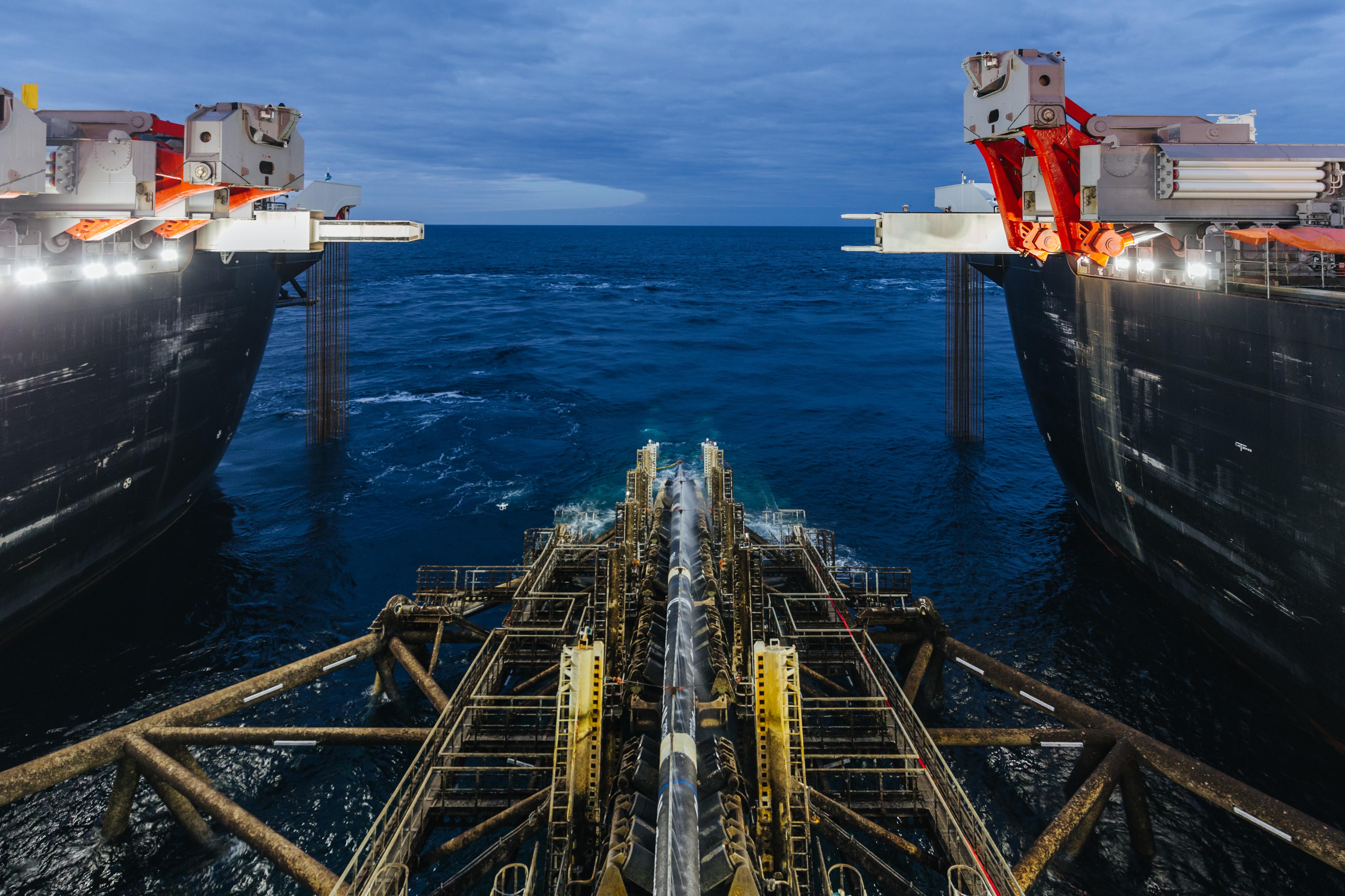 Υποθαλάσσιος αγωγός φυσικού αερίου