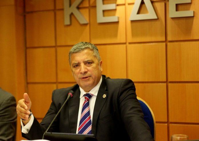 Ο Γιώργος Πατούλης σε εκδήλωση της ΚΕΔΕ