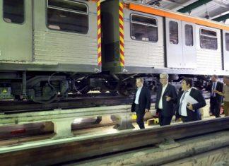 Επίσκεψη της πολιτικής ηγεσίας του υπουργείου Υποδομών και Μεταφορών στο Μετρό