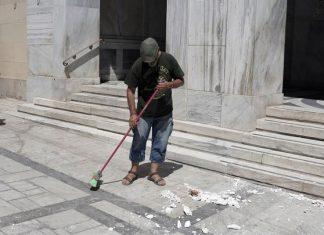 Ζημιές από τον σεισμό στην Αθήνα