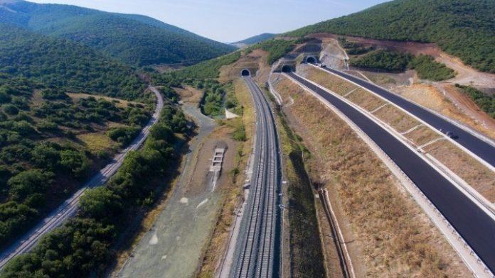 Οδική και σιδηροδρομική σύνδεση στην Περιφέρεια Κεντρικής Μακεδονίας