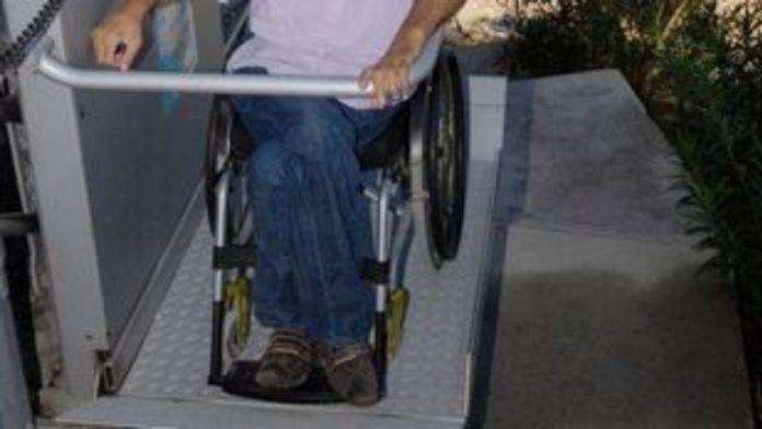 Αναβατόριο για αναπηρικά καροτσάκια