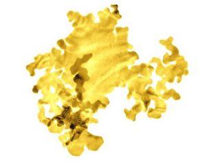 Απεικόνιση της νέας μορφής χρυσού που δημιουργήθηκε από το Πανεπιστήμιο του Leeds