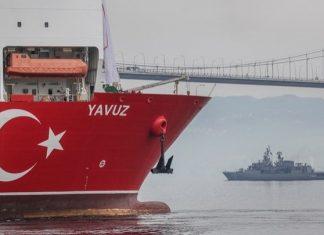 Tο τουρκικό πλοίο γεωτρήσεων «Γιαβούζ»