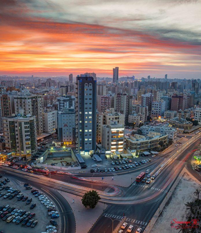 Αεροφωτογραφία της Σαλμίγια, Κουβέιτ