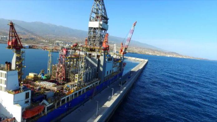 Σε πλήρη ετοιμότητα για τις επικείμενες γεωτρήσεις στην κυπριακή ΑΟΖ φαίνεται πως βρίσκεται η κοινοπραξία των εταιρειών TOTAL-ENI