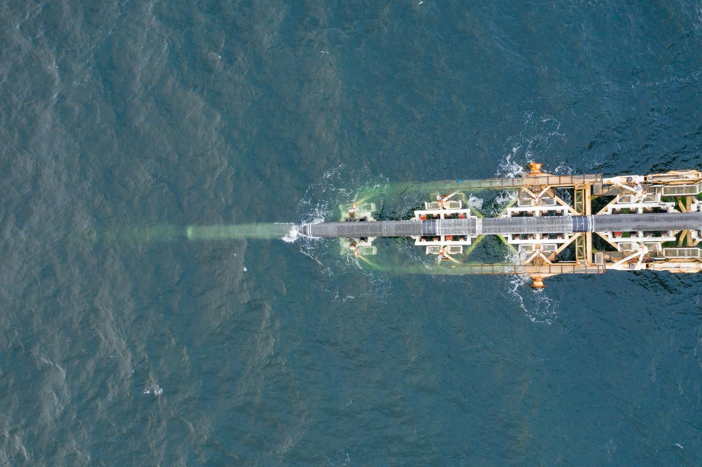 Εγκατάσταση σωληνώσεων του Nord Stream 2 στα γερμανικά ύδατα